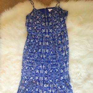 Xhilaration Blue Bird Maxi Dress